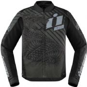 Icon Overlord Serpecant Textile Jacket Black